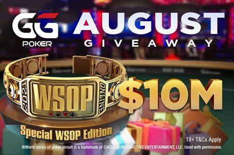 GGPoker $10m WSOP Giveaway