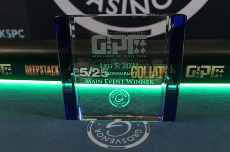 2021 GUKPT Edinburgh Main Event champion