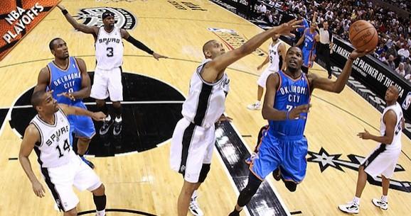 Who Ya Got: NBA Playoffs 2012 — Oklahoma City Thunder vs. San Antonio Spurs