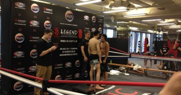 Terrence Chan Wins Professional MMA Debut