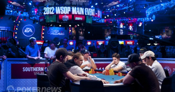 The Five Toughest Tables from the 2012 World Series of Poker