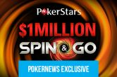 "Russian Player ""sss66666"" Wins the First PokerStars $1 Million Spin & Go"