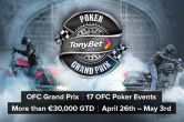 Tonybet Poker Announces Online Open-Face Chinese Poker Series 'OFC Grand Prix'