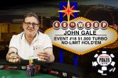 John Gale Returns from Three-Year Hiatus Caused by Brain Tumour to Capture 2nd Bracelet