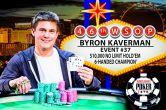 Byron Kaverman Captures His First WSOP Bracelet