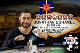 Jonathan Duhamel Wins $111,111 High Roller for ONE DROP for $3,989,985