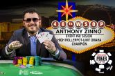 Anthony Zinno Caps Incredible Year with $25,000 PLO Bracelet Win