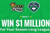 Win $1 Million Playing Fantasy Football With Your Friends!