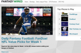 PokerNews' Sister Site FantasyWired Has Everything You Need to Succeed in NFL Week 1