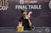 Jimmy Zhou Wins 2015 PokerStars.net APPT ACOP Main Event for Over $750,000