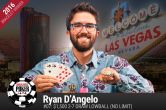 For the Love of the Game: Ryan D'Angelo Wins his First WSOP Bracelet