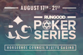 RunGood Poker Series Celebrates End of Summer with $1,100 Main Event in Horseshoe Casino Council Bluffs August 19-21
