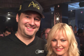 "Phil Hellmuth and Brandon Cantu Film Scene for Showtime's ""Billions"""