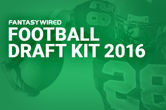 FantasyWired Launches Free Fantasy Football Draft Kit for 2016