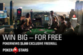 The Next $5,000 PokerStars Freeroll is Only Days Away