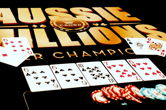 Aussie Millions Starts, Completes First Flight of Opener