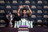 Shurane Vijayaram Wins the 2017 Aussie Millions Main Event