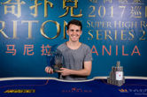 Koray Aldemir Wins the 2017 Triton Super High Roller Series Manila