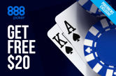 Free Money With No Play Required at 888poker
