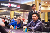 Zigao Yu Takes Early Lead at PokerStars Championship Macau Main Event