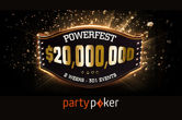 Powerfest Returns to partypoker in May With $20 Million in Prizes