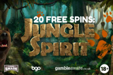 Last Call to Play Jungle Spirit with No Deposit Free Spins!
