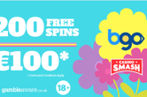Celebrate the Start of Spring 200 Free Spins!