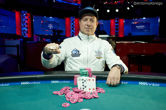 Vladimir Shchemelev Wins Second WSOP Bracelet in $1,500 Omaha Hi-Lo Mix