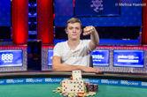 Artur Rudziankov Wins Event #58: $1,500 No-Limit Hold'em