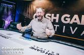 Kevin Malone Lifts the Trophy at the Cash Game Festival Dublin