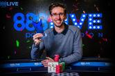 Jonathan Bowers Wins the 888poker LIVE London 2018 Kickoff