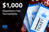 Play For a Share of $2,000 Every Week For Free at 888poker
