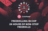 Freerolling at CoinPoker: The Action Starts Now!