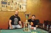 Ρήγας Μπαχούμης και Δημήτρης Γκατζάς στην κορυφή του Finix Superstars Main Event