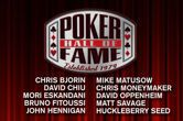 Ten Poker Hall of Fame Candidates for 2018 Announced
