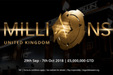 Over £8M Guaranteed at partypoker LIVE MILLIONS UK