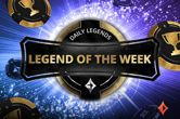 Will You Become partypoker's Legend of the Week?