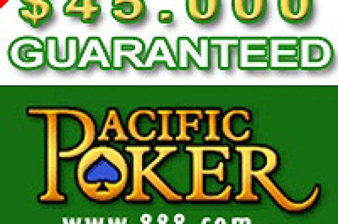 No Limit $45,000 Guaranteed, $30+$3 Buy-in 0001