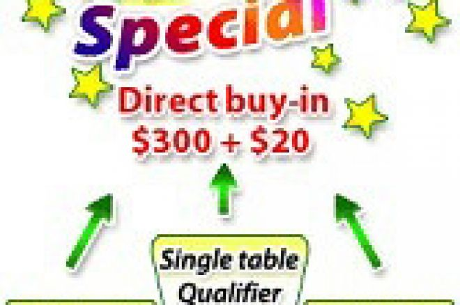 the Saturday Special $300 +$20 Tournament 0001