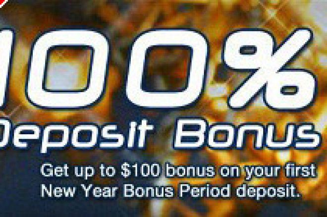 Pokerchamps gives New Years Deposit Bonus! 0001