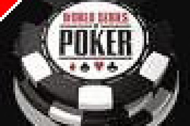 Finally...Poker.  Cards are in the air at the 2005 WSOP 0001
