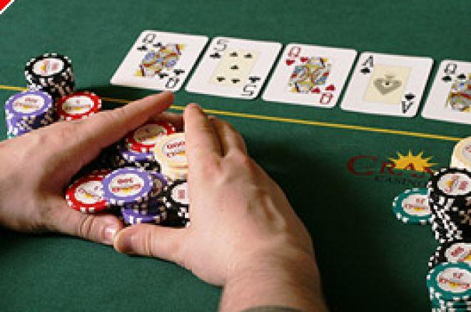 Limit Poker Strategy - het besparen van bets op de river 0001