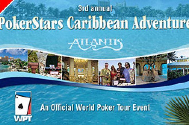 Tournoi Freeroll à $5000 sur PokerStars pour qualificatif au Caraïbes 0001