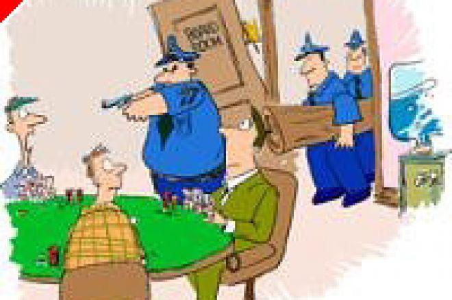 Une descente de Police lors de l'Italian Poker Open - J'y étais 0001