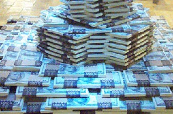 Poker Geldstapel