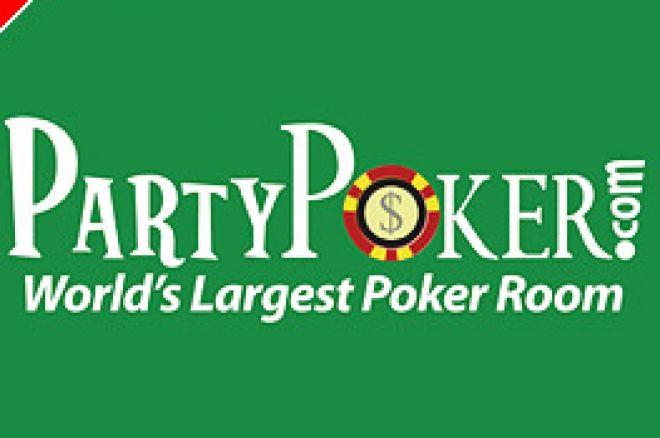 Online poker-helg oppsummering: Partypokers 1 million garantert har premiere. 0001