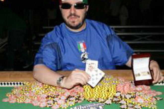 WSOP Updates - Pescatori's 'Greatest Day' Ends With Bracelet 0001
