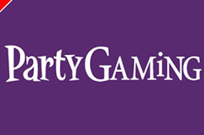 Party Gaming Schriftzug