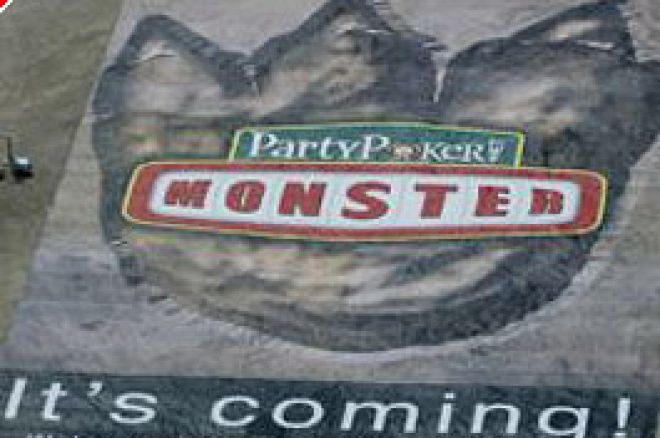 Party Poker Announce The 'Monster' – The Biggest Freeroll in Online Poker History 0001