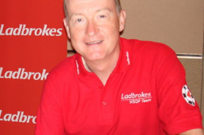 Interview with Steve Davis at the World Series of Poker 0001